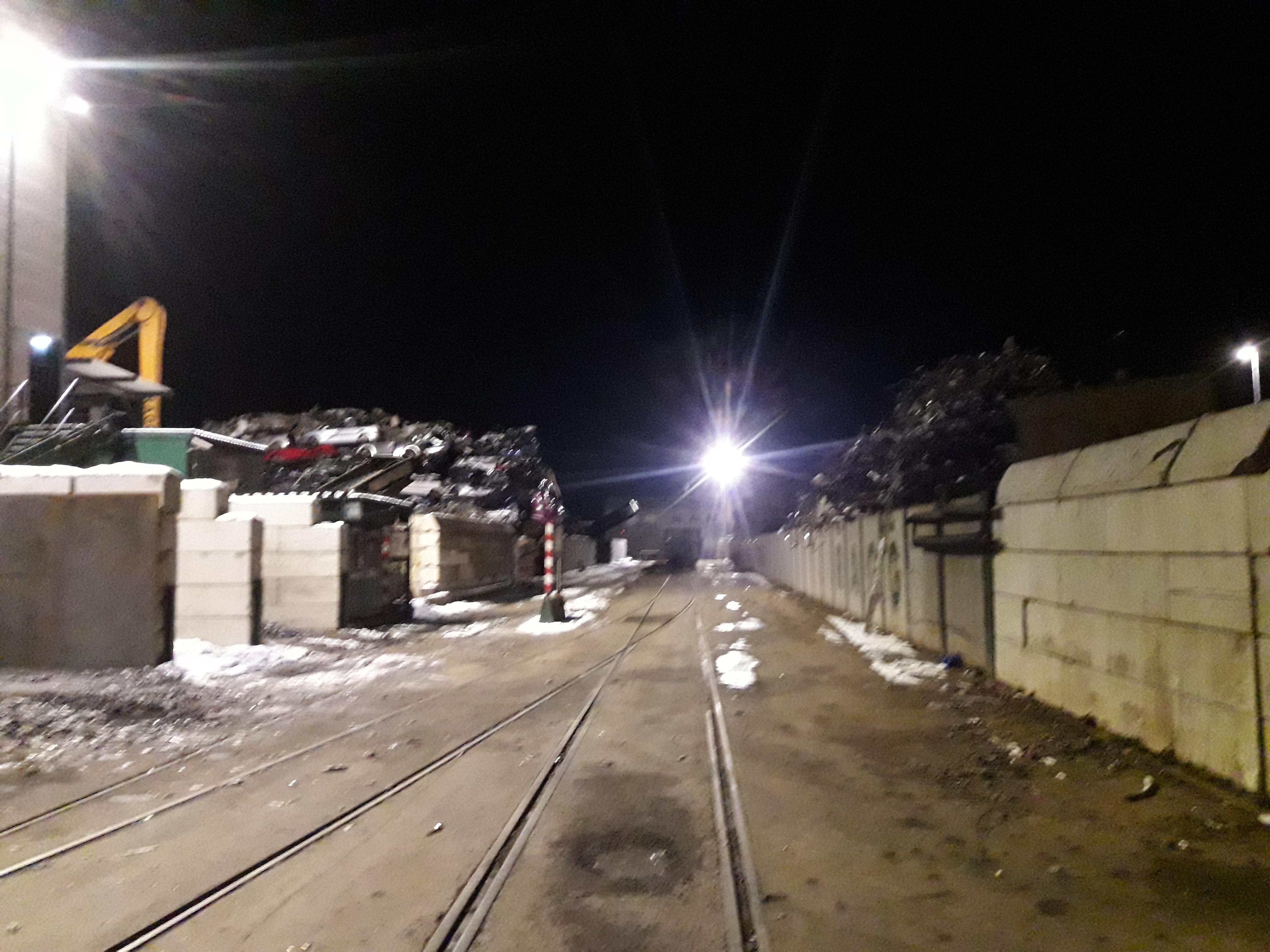 Platzbeleuchtung Gleisanlage