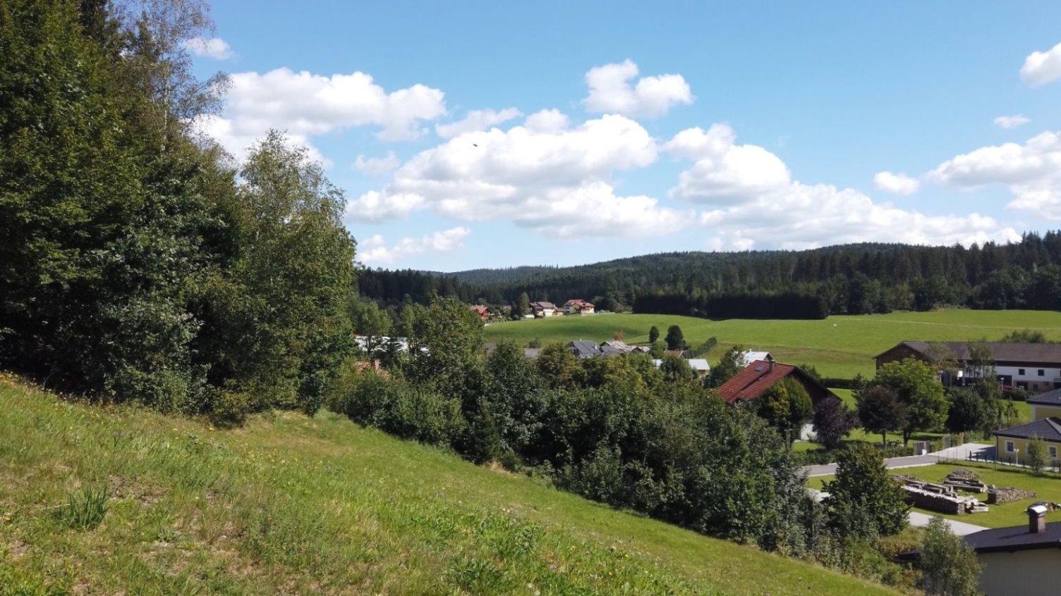 """Im Norwesten - Blickrichtung Ortsteil """"Alte Hütte"""""""