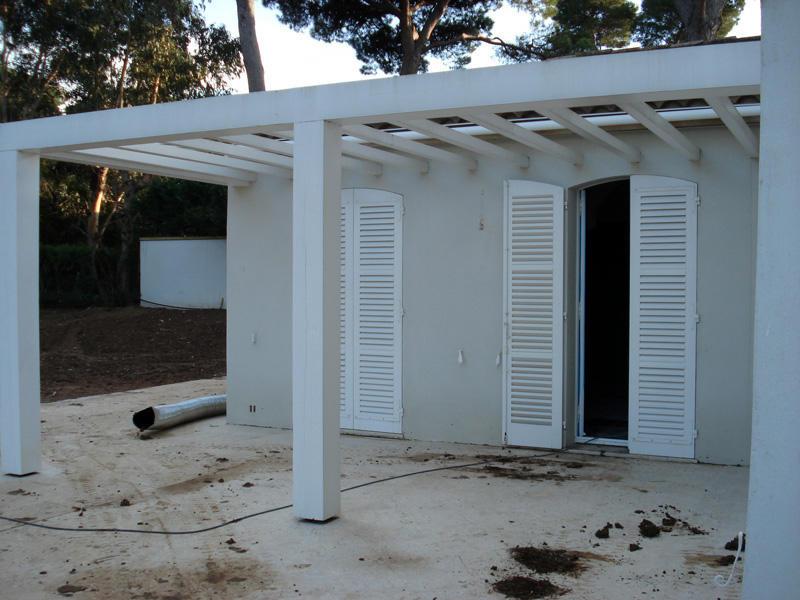 Extension terrasse tuiles - Avant