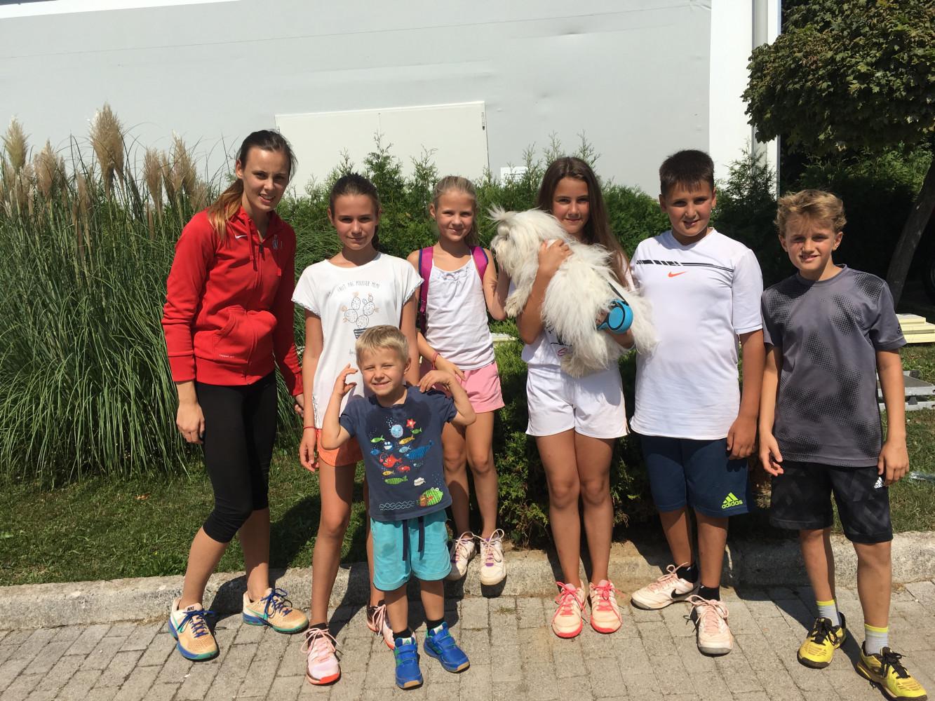 Teniški tečaj za otroke v Ljubljani