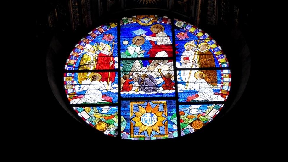 Glasfenster im Dom