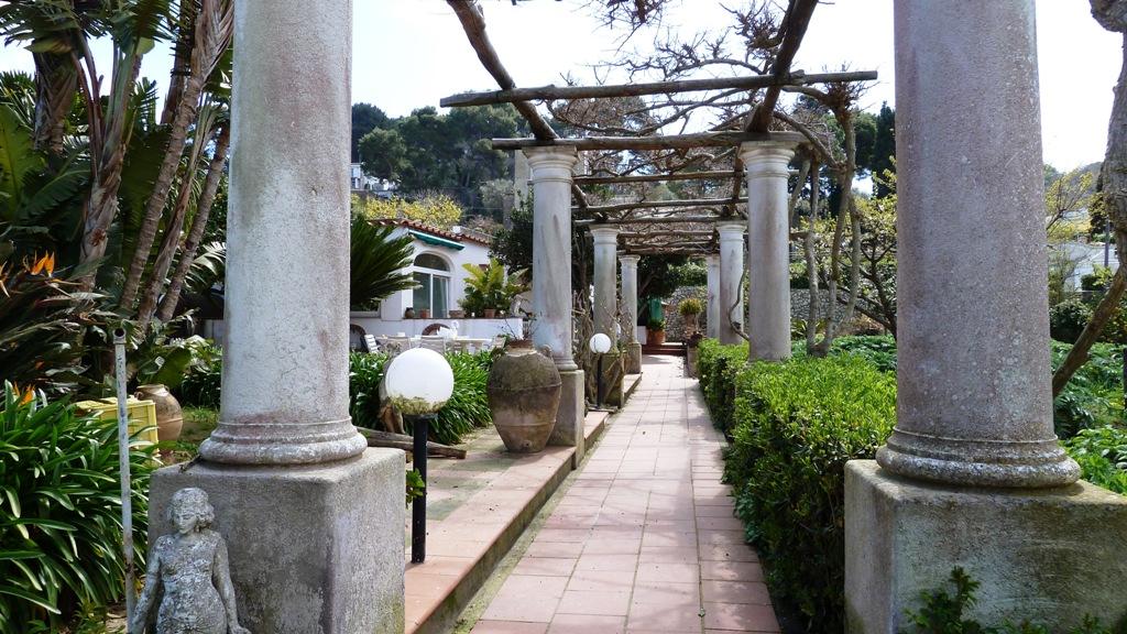 Eingang zu einer feudalen Villa