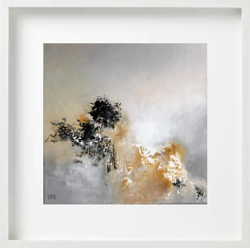 """""""Faune"""" H40x40 cm - Framed 52x52 cm - Acrylic on canvas -"""