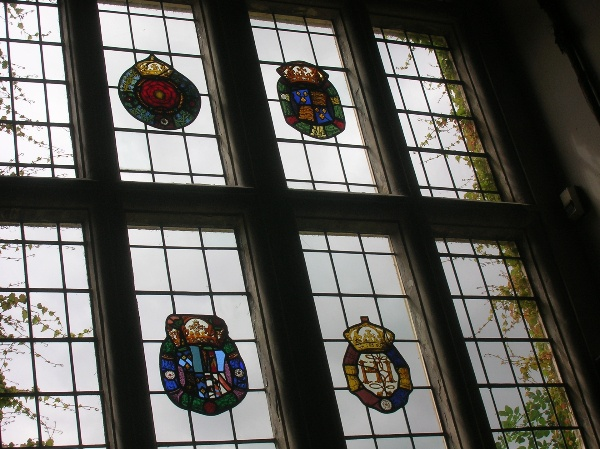 Great Hall stained glass roundels