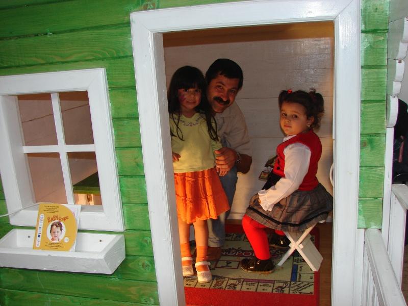 """Căsuța Clara - la Târgul """"Baby-Expo"""" în 2007"""