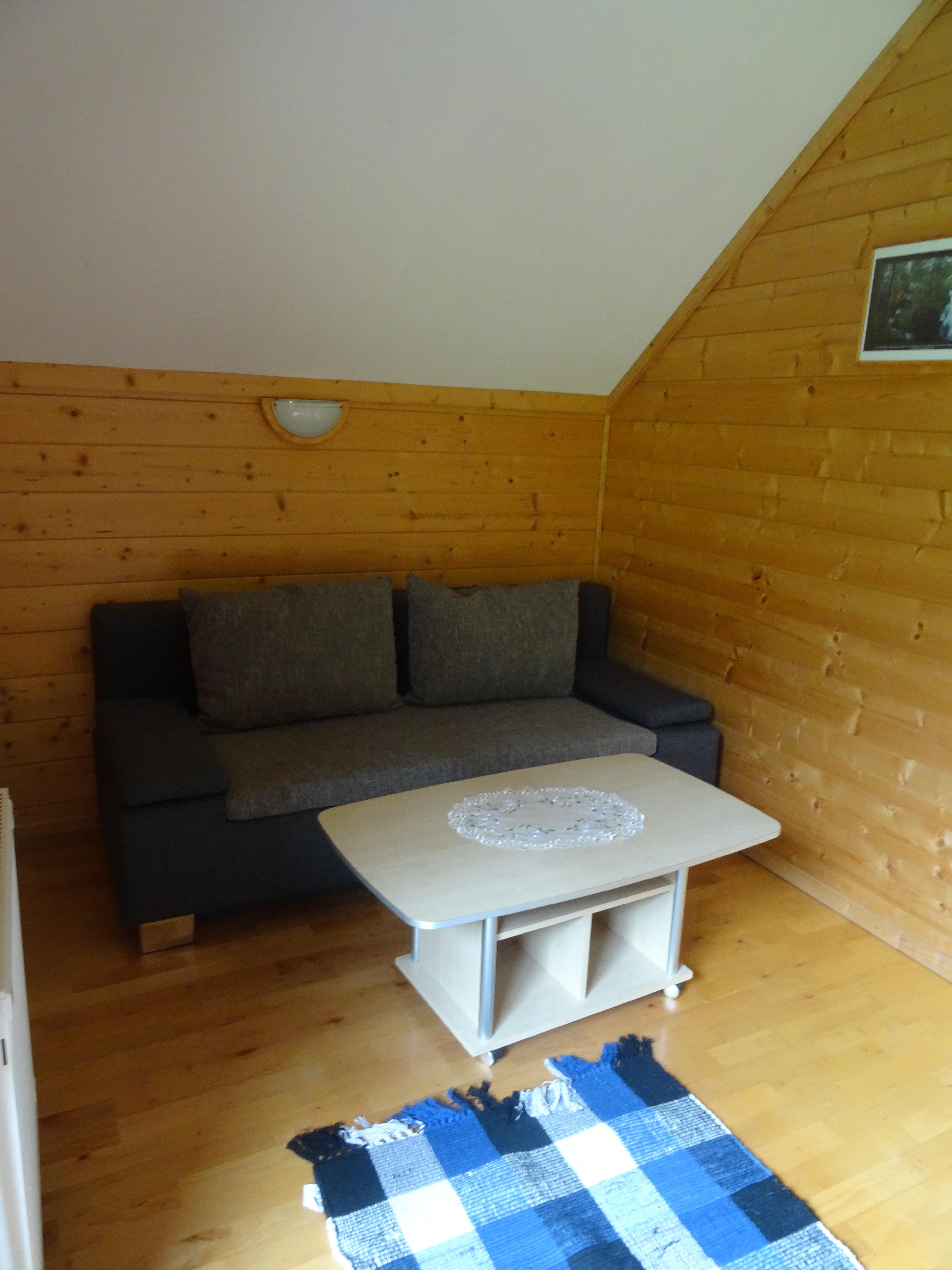 Wohnzimmer mit Schlafoption