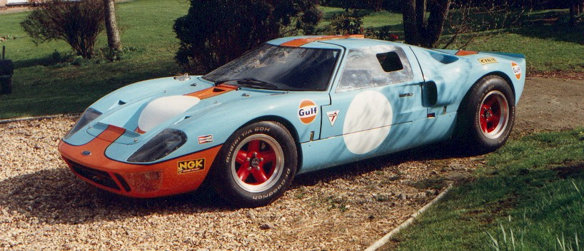 GT40 replica 5.8 litre,  Slawston 1987