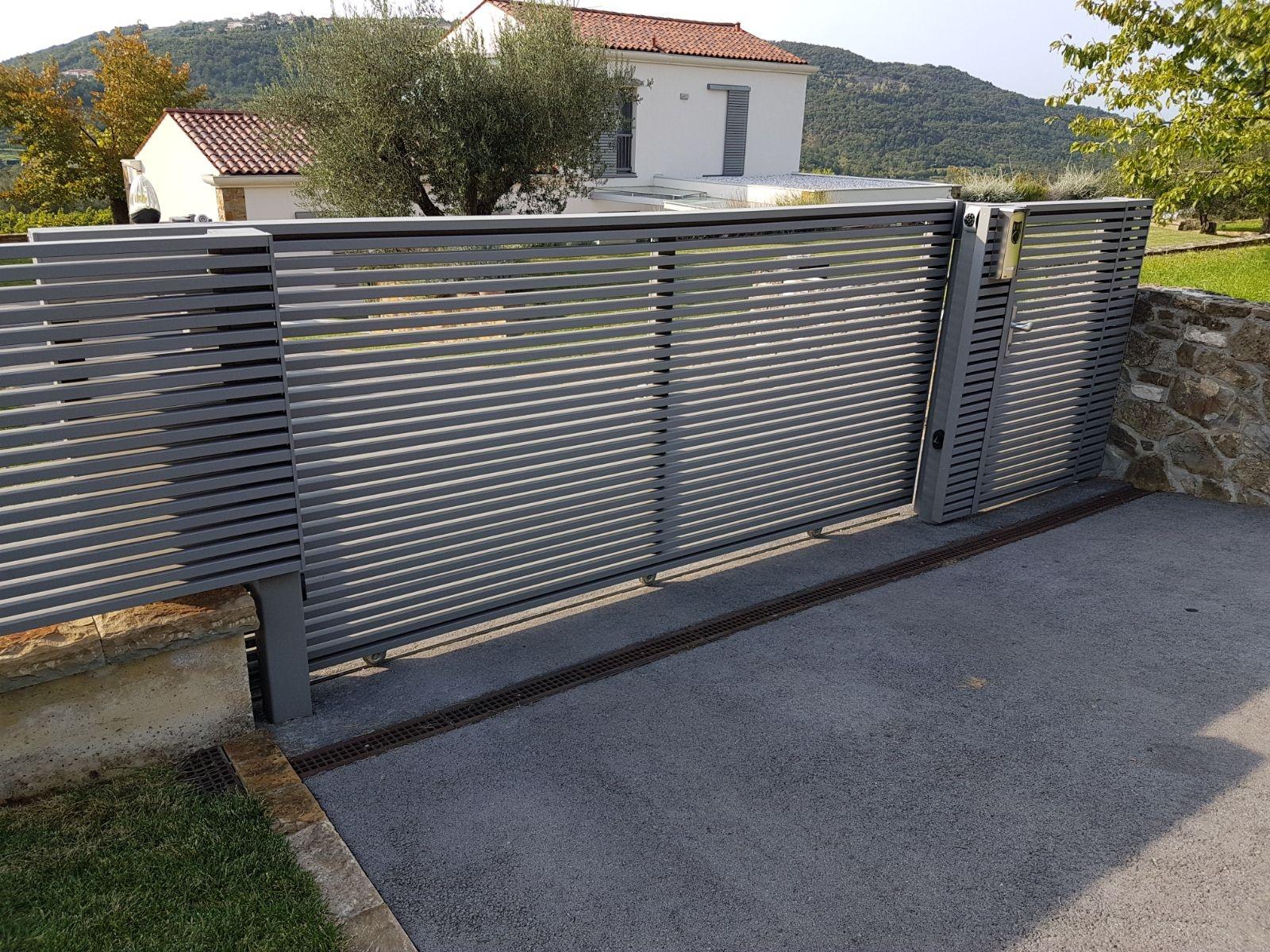 Aluminium Zaun  Linea