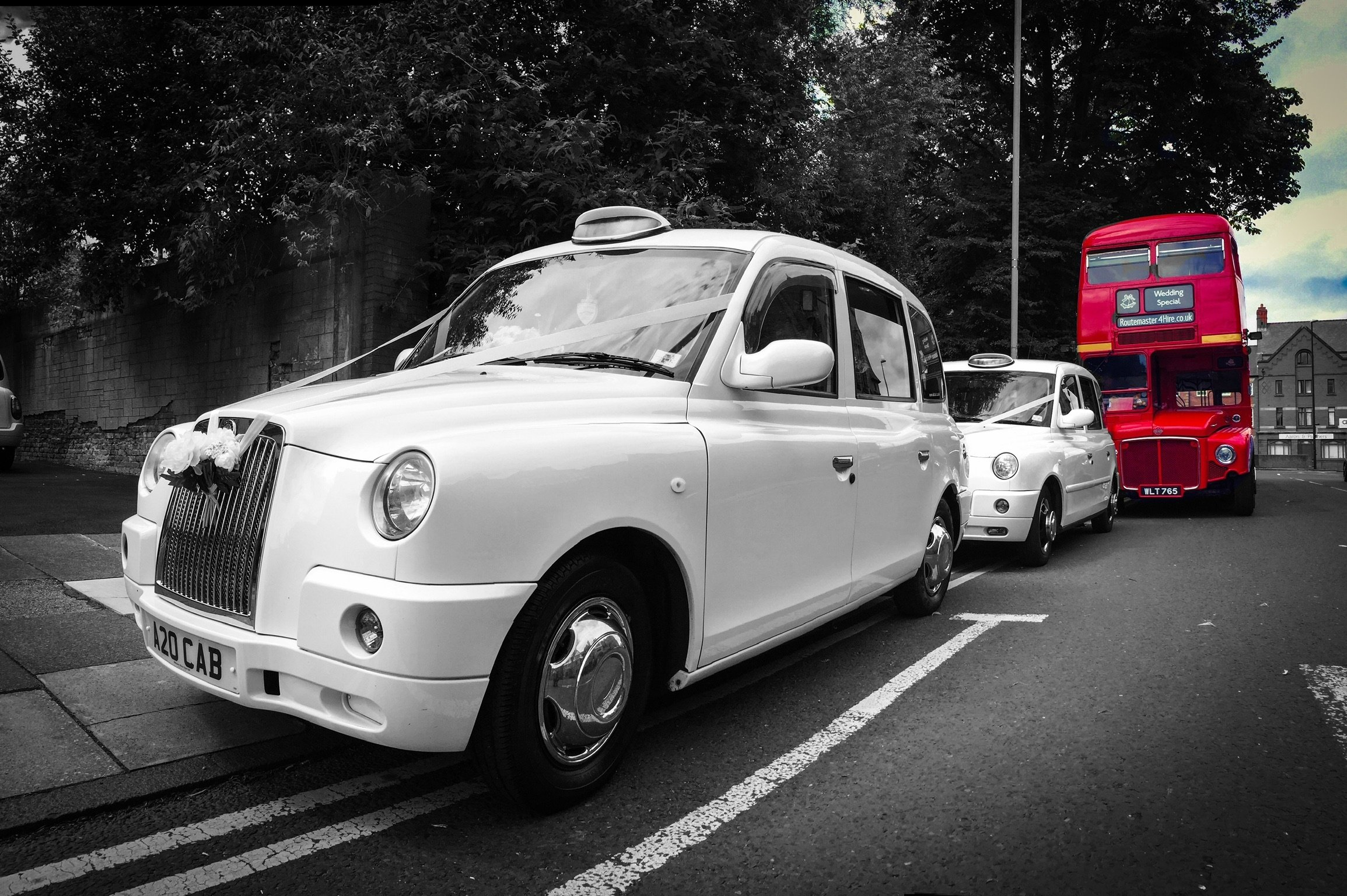 Chester wedding taxi