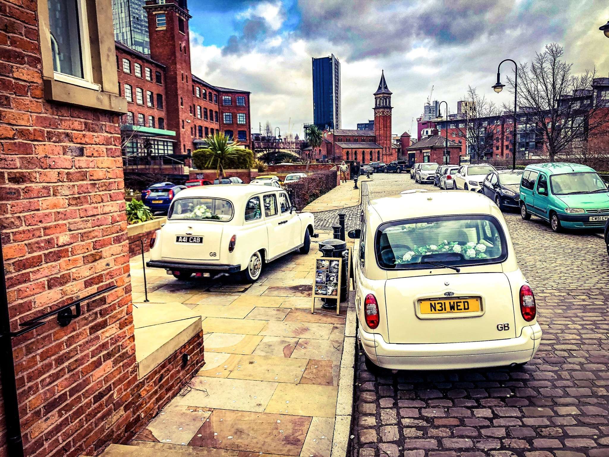 wedding taxi castlefield car