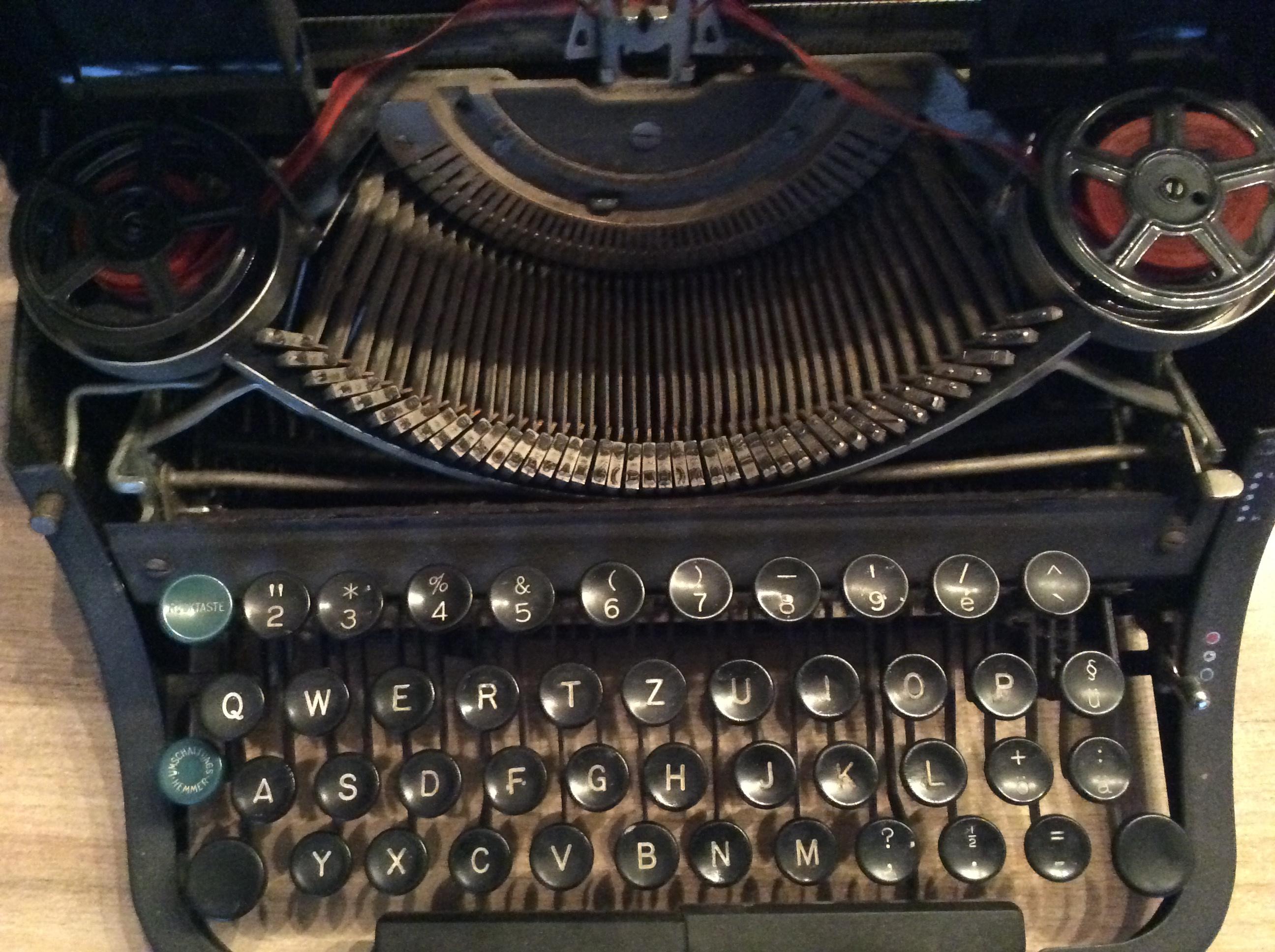 Underwood Schreibmaschine 70 €