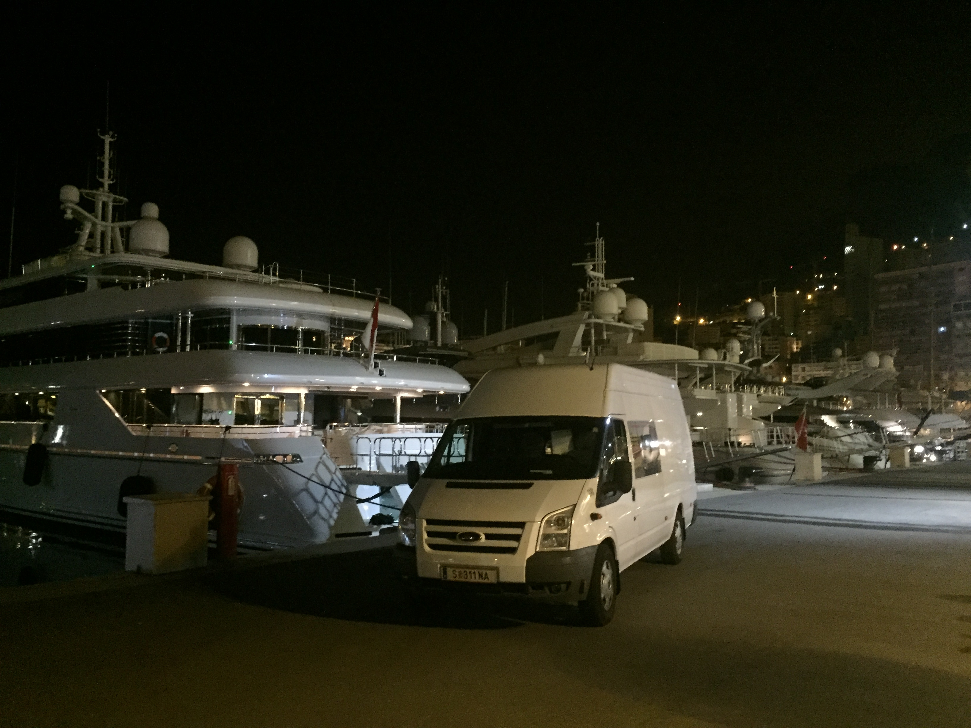 Sondertransport nach Monaco