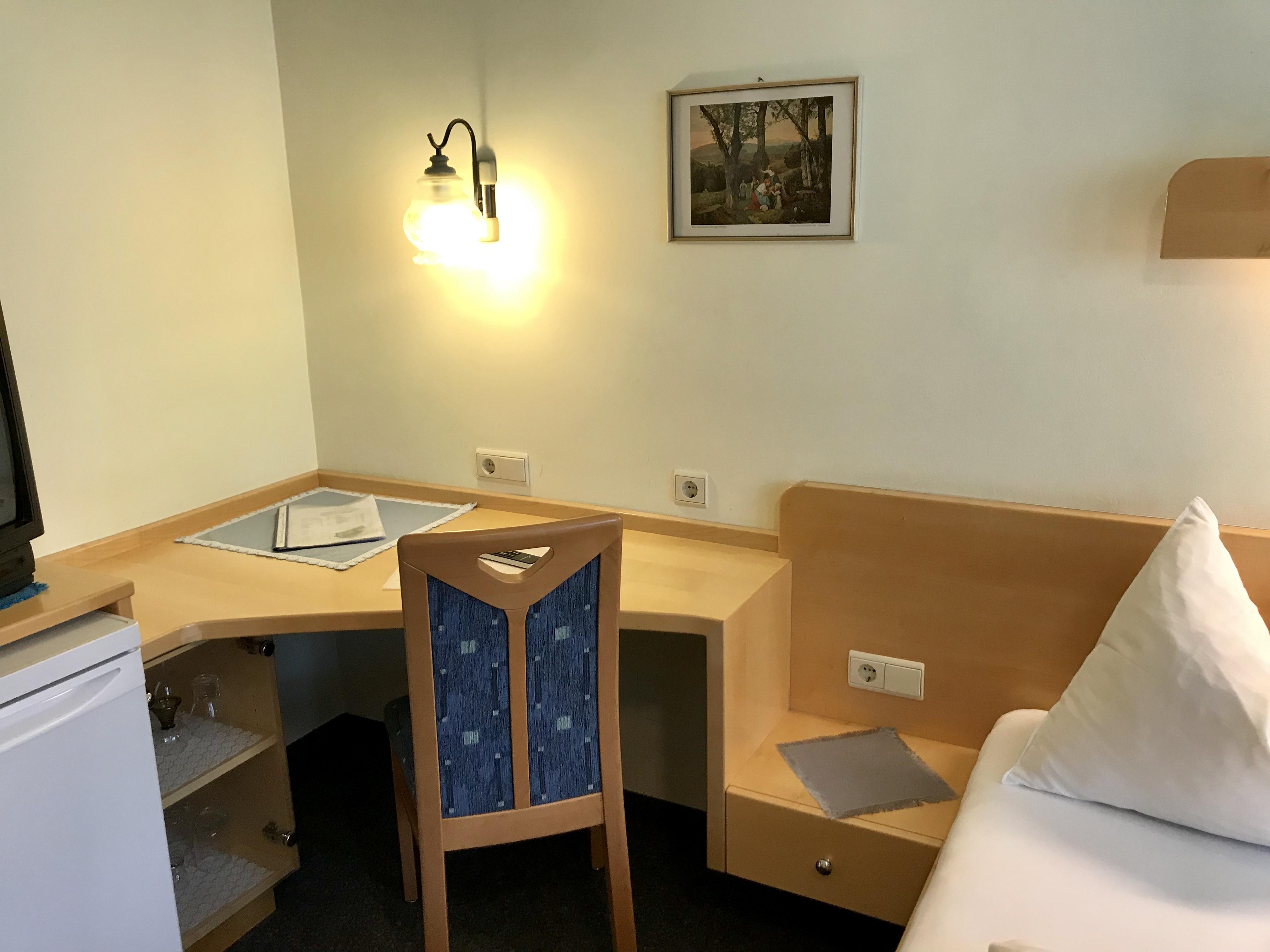 Zimmer Nr. 5 - Sitzbereich