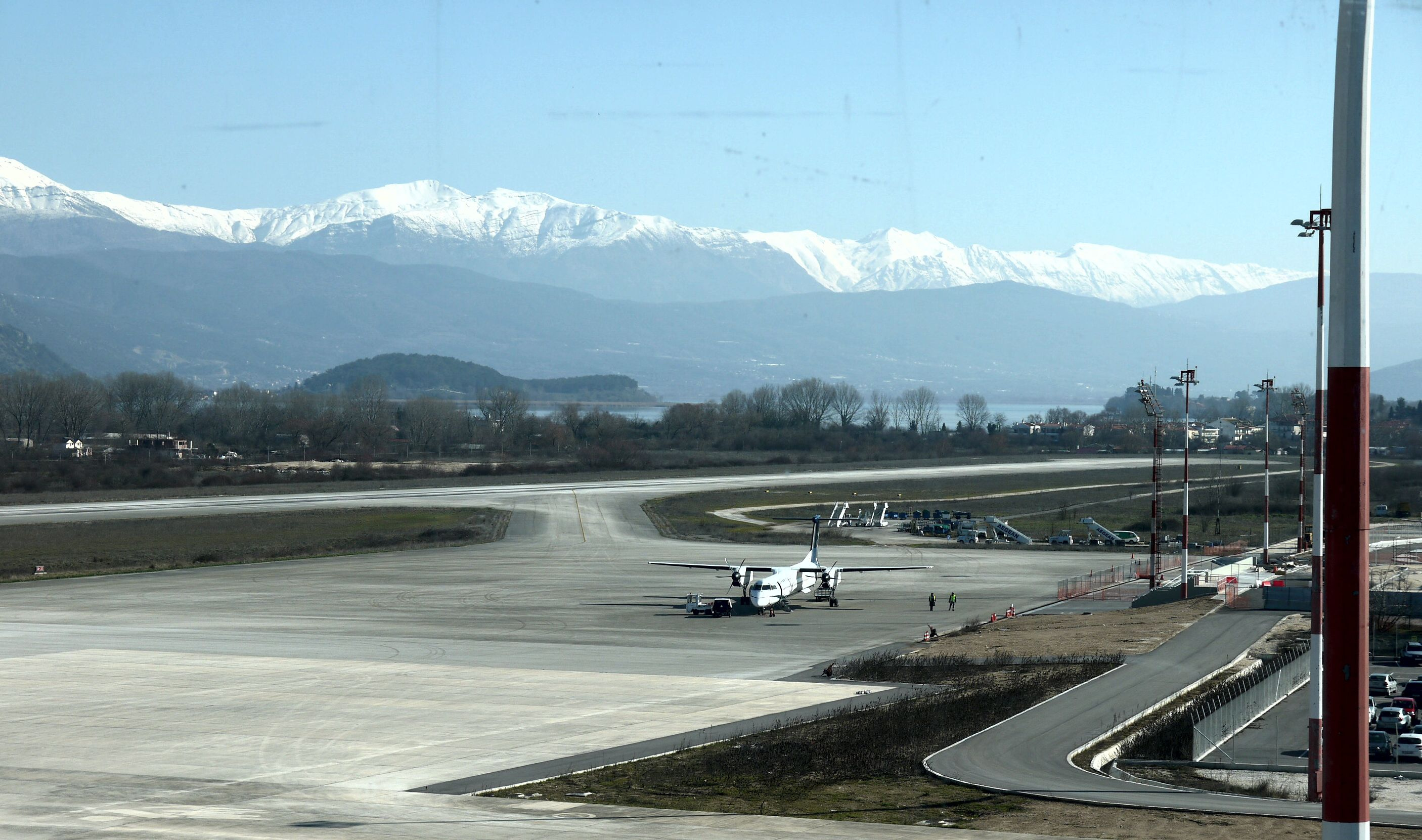 Ioannina airport :  CONTROL TOWER