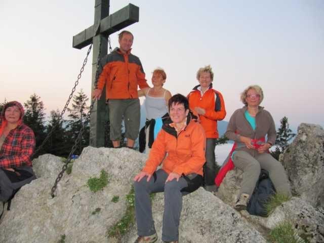 Sonnenaufgangwanderung auf den Alkogel 2012