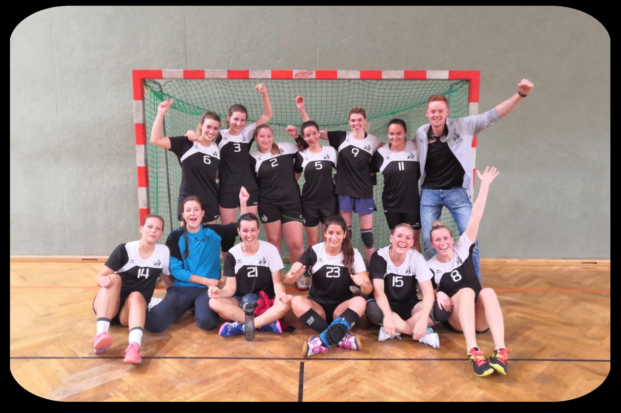 Die Landesliga Damen feierten jeden Sieg