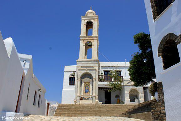 Μοναστήρι Αγ.Πελαγίας Ησυχαστήριο Ναός της Ζ. Πηγής Έκθεση εργόχειρων
