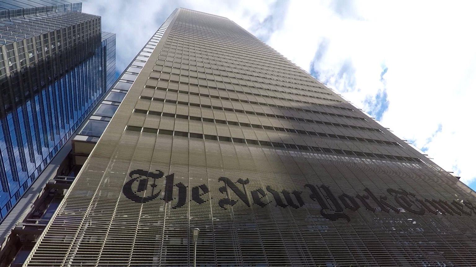 The New York Times - Redaktionsgebäude