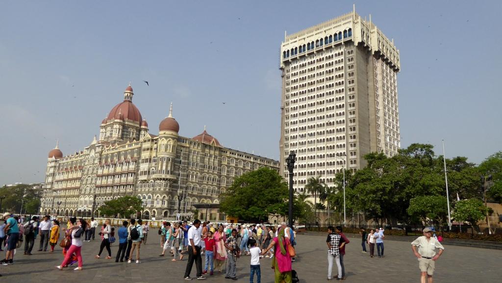 Das berühmte Taj Mahal Hotel