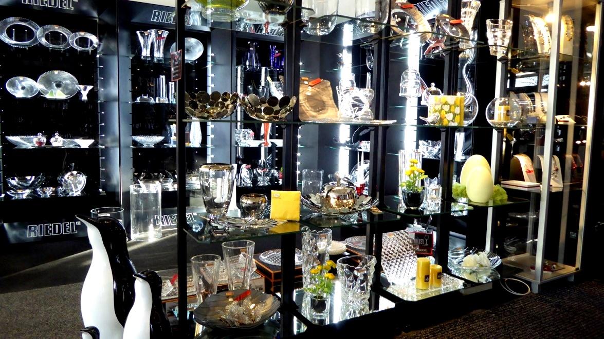 Eine breite Palette der Glaskunst