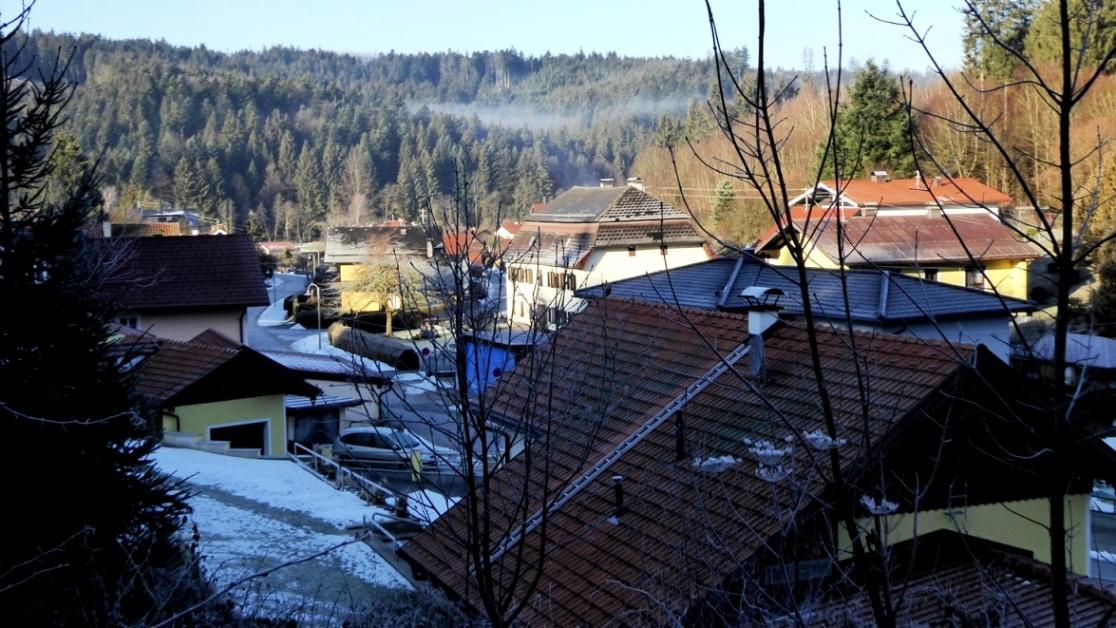 """Blick über den Ortsteil """"Alte Hütte"""""""