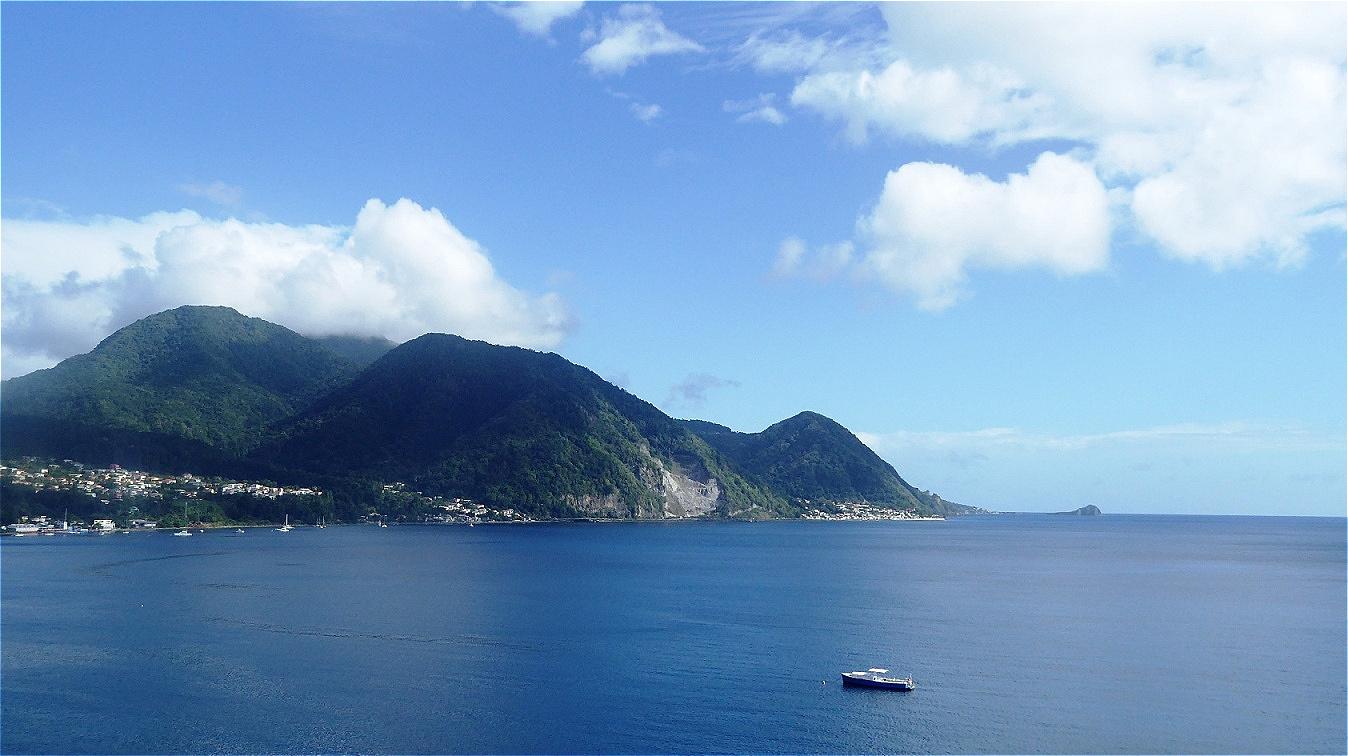 Dominica in Sicht !