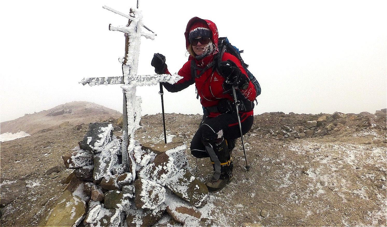 Chachani - 6.057 m - Peru - mein erster Sechstausender ! September 2014