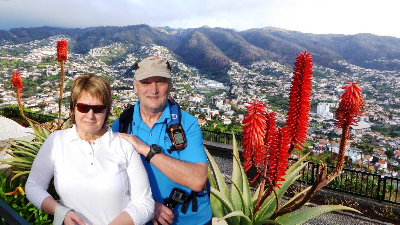 Über Funchal - Aussichtspunkt Miradouro Pico dos Barcelos