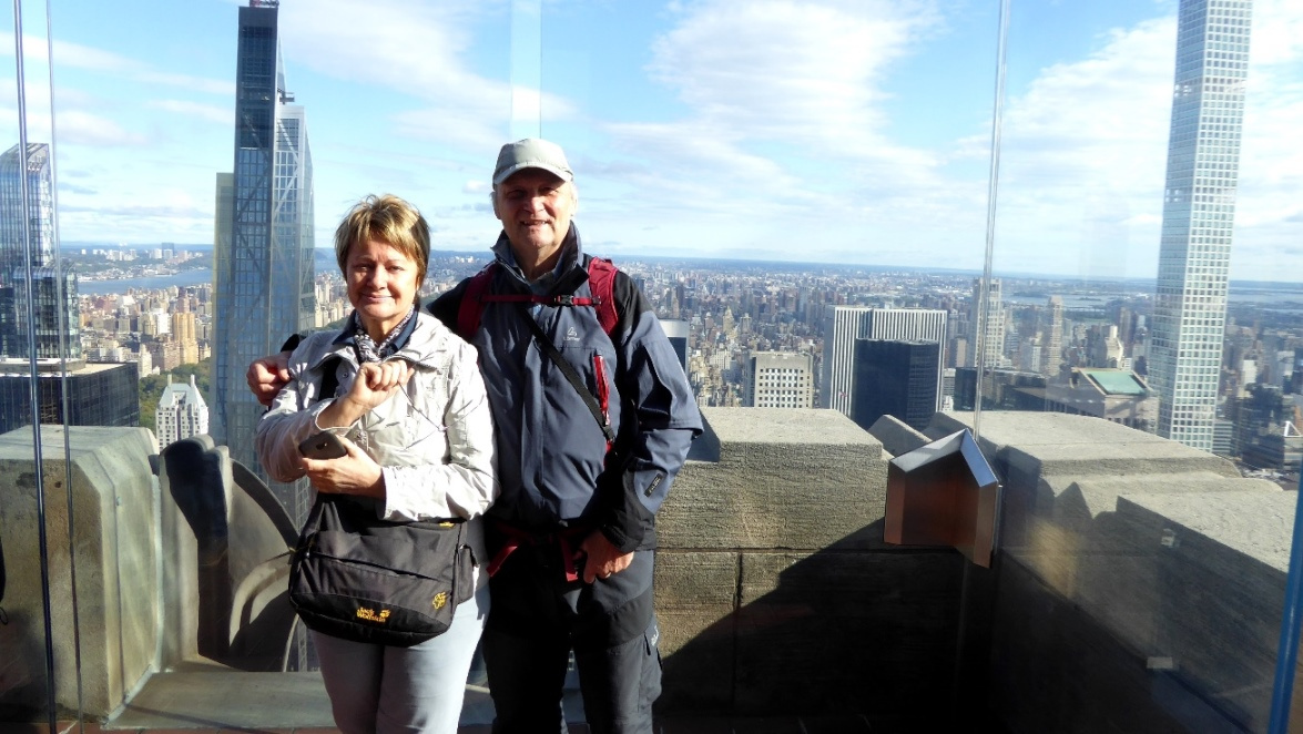 Top of the Rock - Ostseite