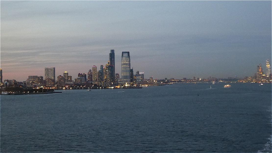 "Wir nähern uns ""Liberty Island"""
