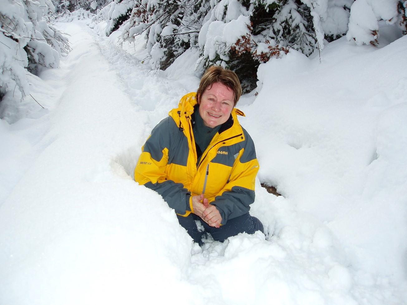 """""""Häschen"""" im Schnee"""