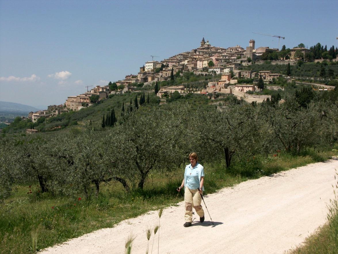 """Unterwegs auf dem """"Franziskusweg"""" -Umbrien - Italien"""