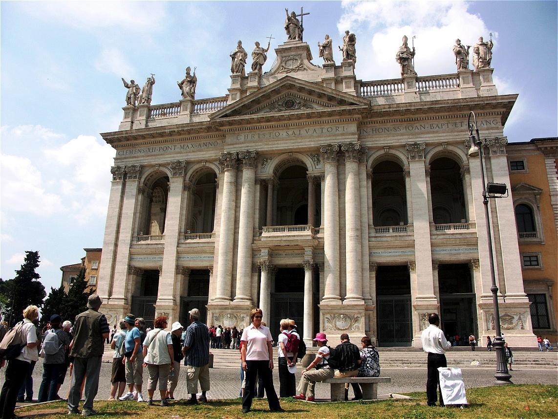 Am Ziel - die Lateran Basilika