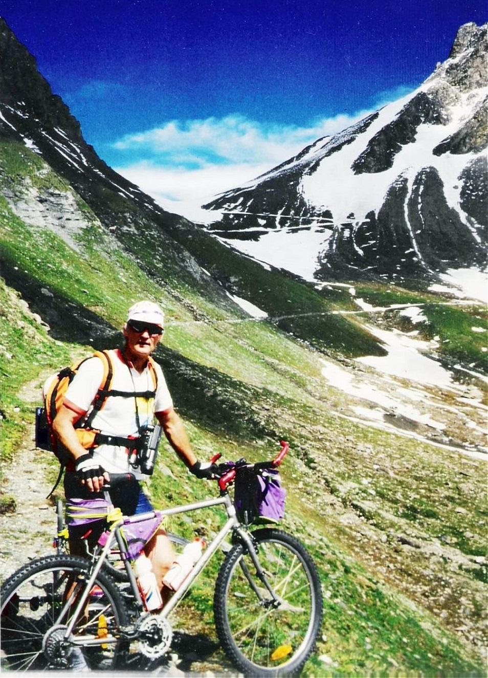 Alpentour-Pfunderer Joch mit Scott-Mountainbike