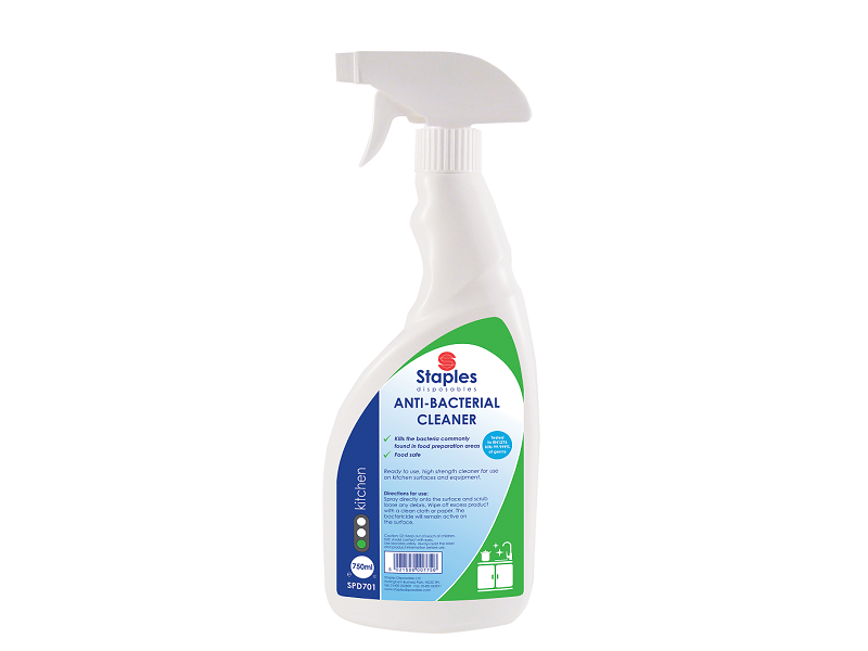 Bactericidal cleaner