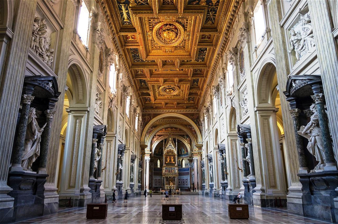 Die Lateran-Basilika war vor dem Petersdom die Papstkirche