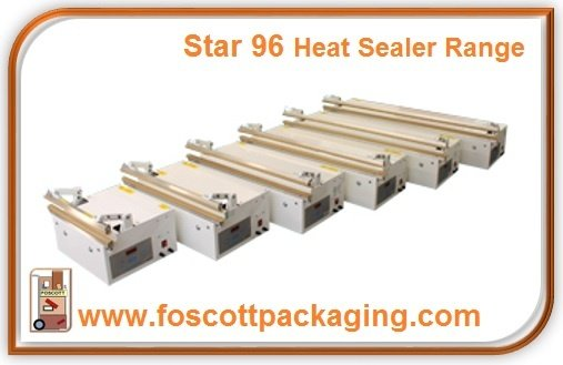 Foscott Packaging Home Page - Foot Operated Heat Sealers