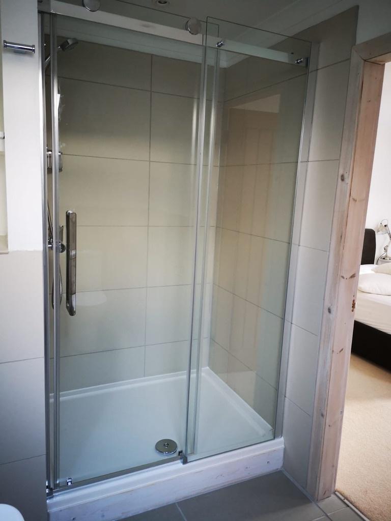 Shower in Bedroom 1 ensuite