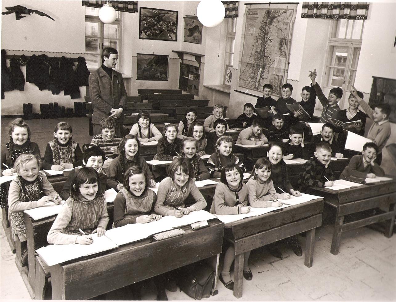 Mein erster Posten - VS Weng/Innkreis 1967 - 2. Klasse
