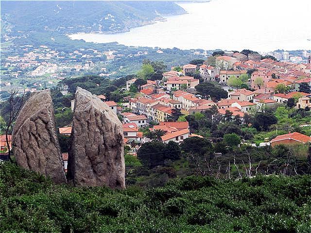 San Piero in Campo - Blick auf die Südküste
