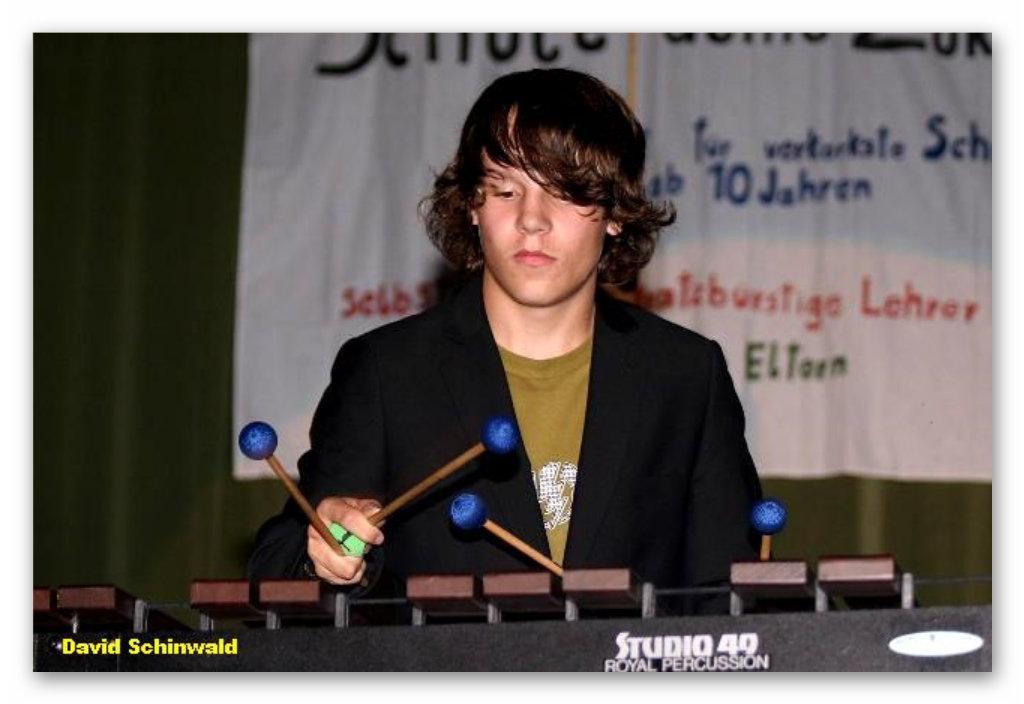 David beherrscht sein Instrument meisterhaft !