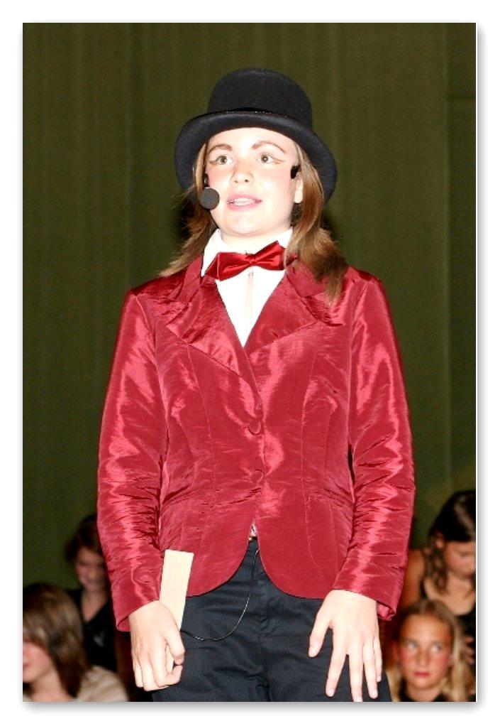 Zirkusdirektorin Claudia Staffl