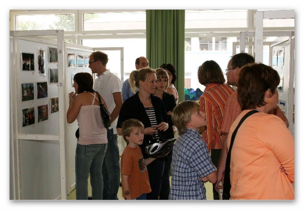 Fotoausstellung - 30 Jahre Hauptschule Friedburg