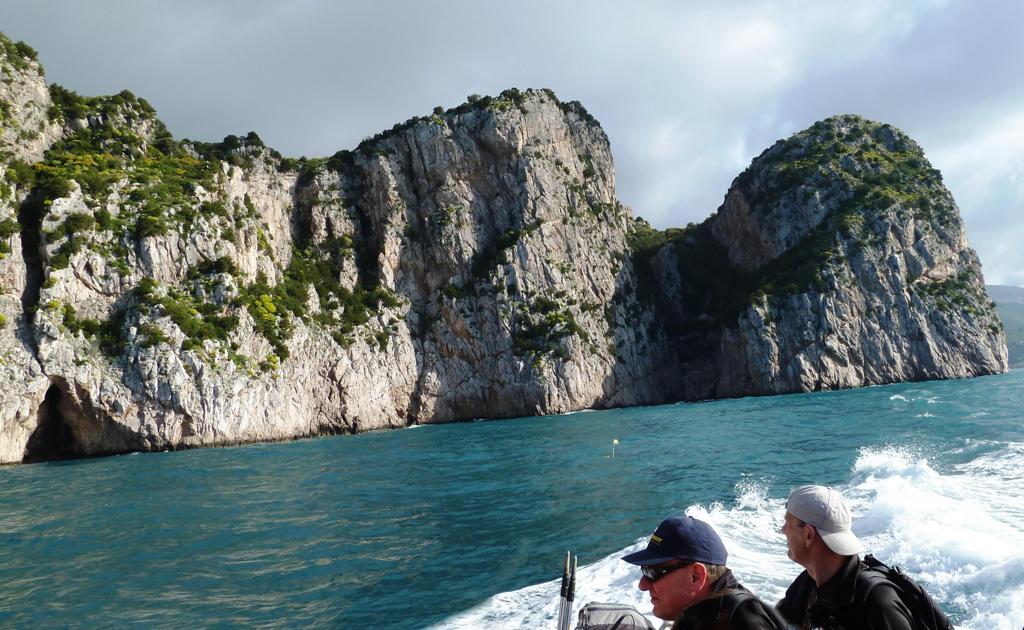 Fahrt entlang der Küste - Naturpark Baia di Ieranto