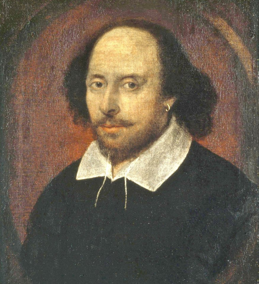 Portrait de William Shakespeare, attribué à John Taylor (National Gallery, Londres)