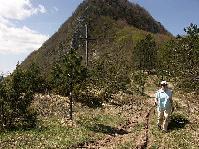 Am Beginn unseres Pilgerweges - nahe der Klosteranlage