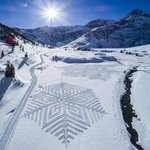 Art on snow