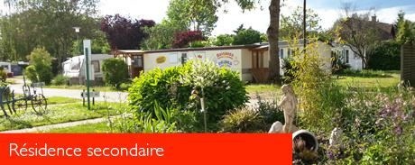 Description du camping des étangs de Marsalin dans  en Eure et Loire