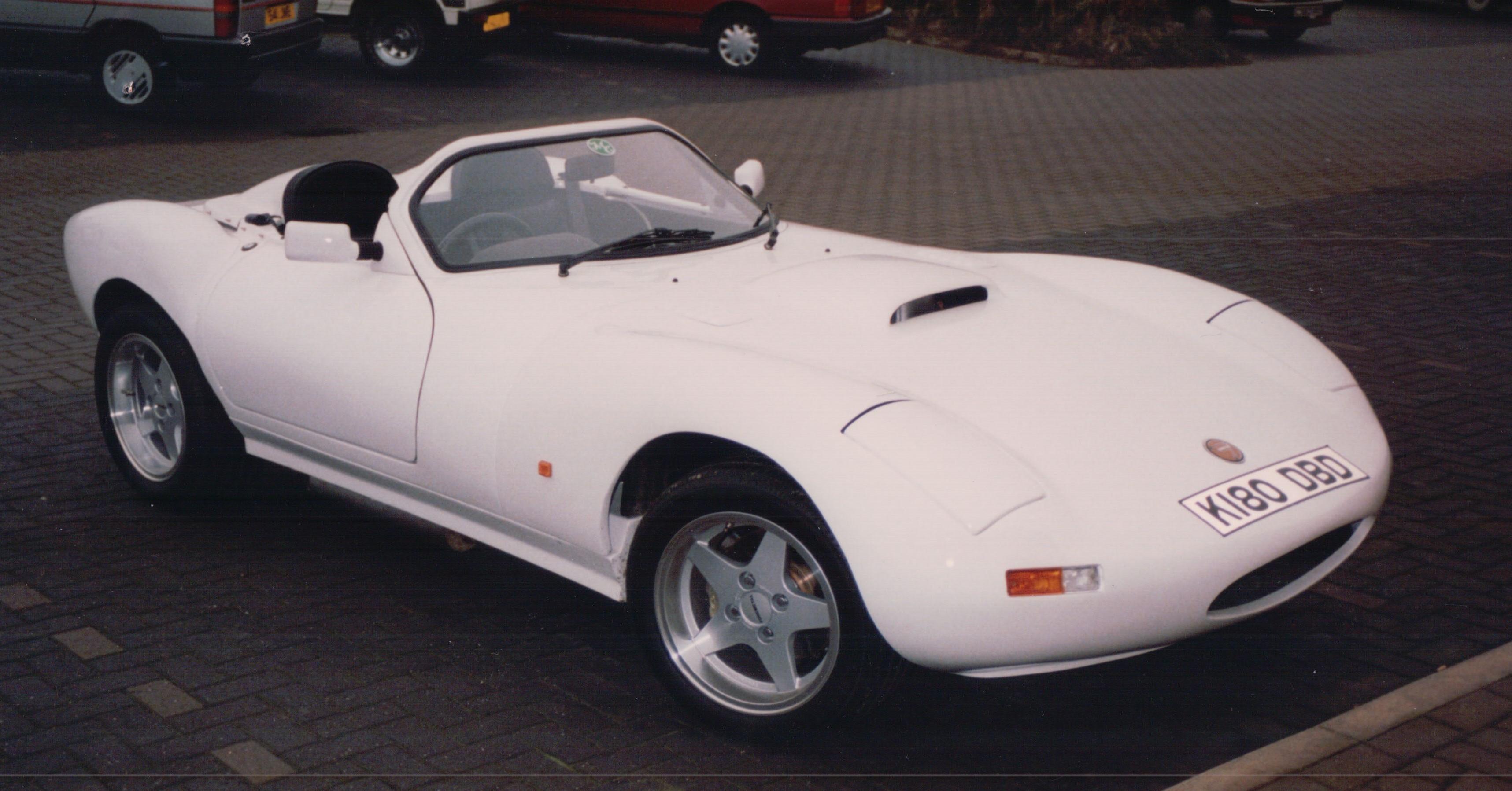 1993 Ginetta G33 V8, Corby