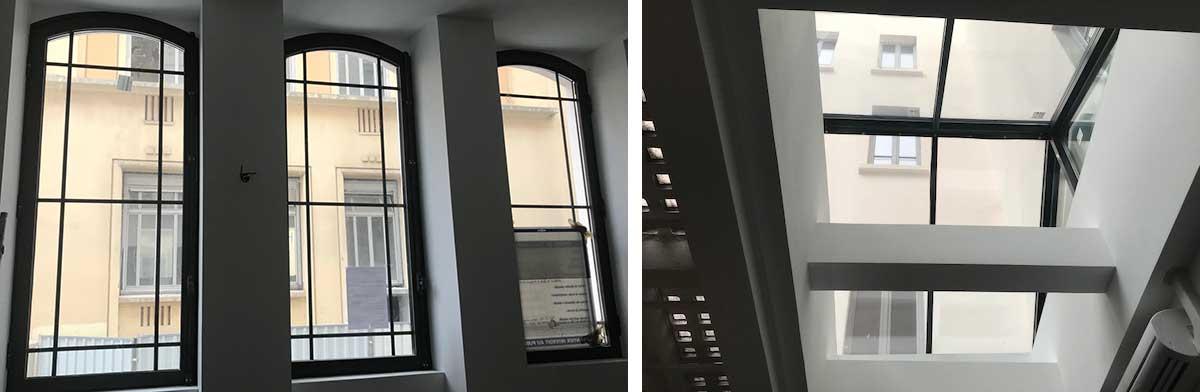 Fenêtres et puits de lumière